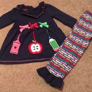 🔴 5 for $25 School Daze Nanette Kids Outfit